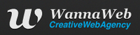 A great web designer: WannaWeb, Marseille, France logo