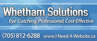 A great web designer: Whetham Solutions Inc., Barrie, Canada