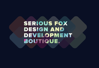 A great web designer: Serious Fox, London, United Kingdom