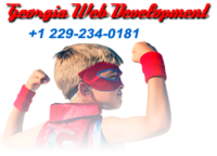 A great web designer: Georgia Web Development, Atlanta, GA logo