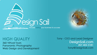 A great web designer: Design Sail, Boston, MA logo