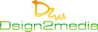 A great web designer: dsign2media, Cochin, India logo