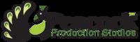 A great web designer: Peacock Production Studios, Tampa, FL logo