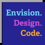 A great web designer: Envision. Design. Code., Boulder, CO logo