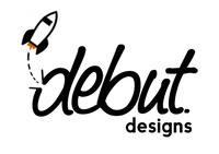 A great web designer: Debut Designs, Charlotte, NC logo