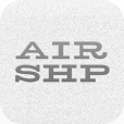 A great web designer: AIRSHP, Austin, TX logo