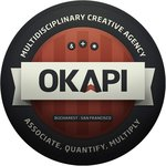 A great web designer: OkapiStudio, San Francisco, CA logo
