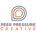 A great web designer: Peer Pressure Creative, Lehigh Valley, PA logo