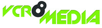 A great web designer: Vcr8 Media, Hyderabad, India logo