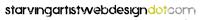 A great web designer: Starving Artist Web Design, New York, NY logo