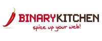 A great web designer: Binary Kitchen, Auckland, New Zealand logo