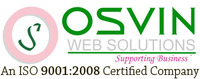 A great web designer: OSVIN Web Solutions - Supporting Business, Chandigarh, India logo