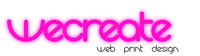 A great web designer: Wecreate Design, London, United Kingdom logo