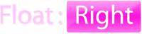 A great web designer: Float:Right, London, United Kingdom logo