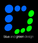 A great web designer: Blue and Green design, Dublin  Ireland, Ireland logo