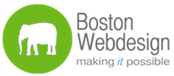 A great web designer: Boston Webdesign, LLC., Boston, MA logo