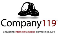 A great web designer: Company 119, Cleveland, OH logo