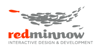 A great web designer: Red Minnow Interactive, Columbus, OH logo