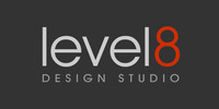 A great web designer: Level8 Design Studio, Portland, ME logo