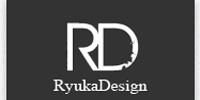 A great web designer: Ryuka - Design, Kyoto, Japan logo