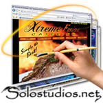 A great web designer: Solostudios.net, Los Angeles, CA logo