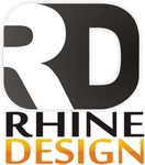 A great web designer: Rhine Design, Appleton, WI logo