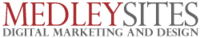 A great web designer: MedleySites Web Design, Boston, MA logo