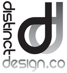 A great web designer: Distinct Design Company, Atlanta, GA logo