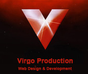 A great web designer: Virgo Production SARL, Los Angeles, CA logo