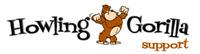 A great web designer: Howling Gorilla, Orlando, FL logo