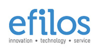A great web designer: Efilos, Bangalore, India logo
