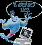 A great web designer: Il genio del pc, Milano, Italy logo