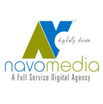 A great web designer: NAVOMEDIA, Kochi, India logo