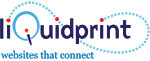 A great web designer: liQuidprint, Inc., Chicago, IL logo
