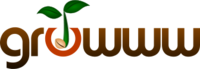 A great web designer: growww, inc., San Francisco, CA logo