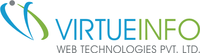 A great web designer: VirtueInfo Web Technologies Pvt. Ltd., Ahmedabad, India logo