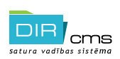 A great web designer: DIRcms, Riga, Latvia