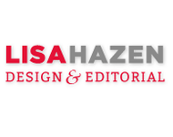 A great web designer: Lisa Hazen Design & Editorial, Chicago, IL logo