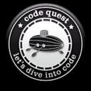 A great web designer: code quest, Warsaw Poland, Poland logo