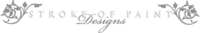 A great web designer: StrokeOfPaintDesigns, Los Angeles, CA logo