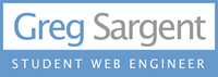 A great web designer: Greg Sargent, Nashville, TN logo
