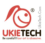 A great web designer: Ukietech, Chicago, IL logo