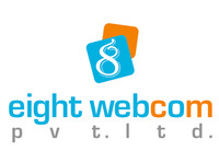 A great web designer: Eight Webcom Pvt. ltd., Ahmedabad, India logo