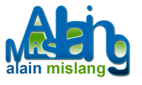 A great web designer: Alain Mislang, New York, NY logo