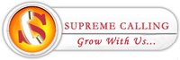 A great web designer: Supreme Calling, New Delhi, India logo