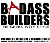 A great web designer: Badass Builders, Albuquerque, NM logo
