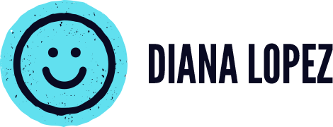 A great web designer: Diana Lopez, Los Angeles, CA logo