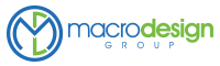 A great web designer: Macro Design Group, New York, NY logo