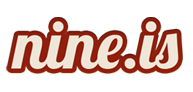 A great web designer: Nine.is, Atlanta, GA logo