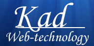 A great web designer: kad web technology, Mumbai, India logo